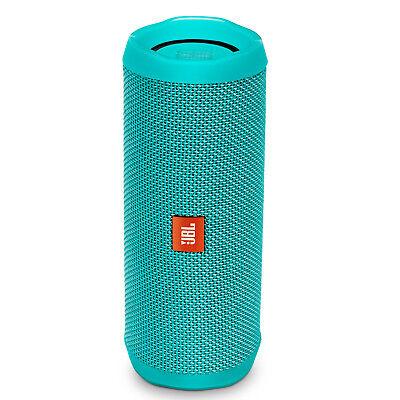 JBL Flip 4 Portable Waterproof Bluetooth Speaker (Teal)
