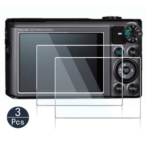 Screen Protector for canon powershot sx740 hs Camera Tempered Glass 9H hard 3PS