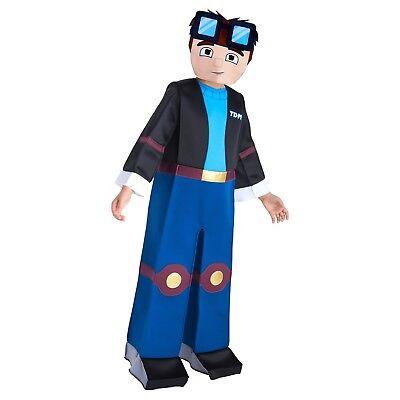 NWT TUBE HEROES GAMING BOY'S TDM DELUXE CHILD COSTUME - PALAMON](Baby Hero Games)