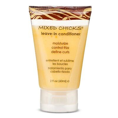 Mixed Chicks Leave-in Conditioner for Moisture Control Frizz Define Curls 2oz