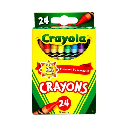 2 PACKS  48 Crayola Crayons 24 Colors non toxic teachers #1 back to school 🎨