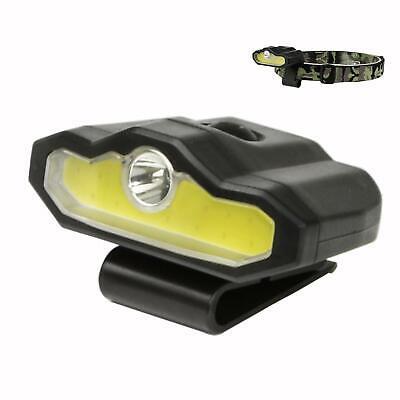 LED Cap Light Portable Hands-Free Clip Cap Light Rechargeable Headlamp Flashligh Hands Free Led Cap Light