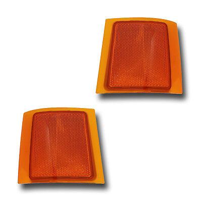 Fits 94-02 Chevrolet C K Suburban Tahoe Upper Side Marker Light Lamp 1 Pair Chevrolet Tahoe Side Marker