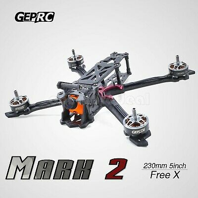 GEP-Nick2 7'' 300mm FPV Racing Drone Carve out Unfinished Quadcopter 4mm Arm dl45