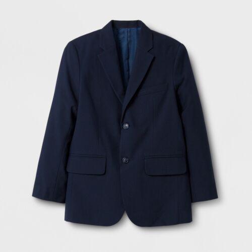 Cat & Jack Boys Navy Suit Coat Jacket Size 18 Months NWT