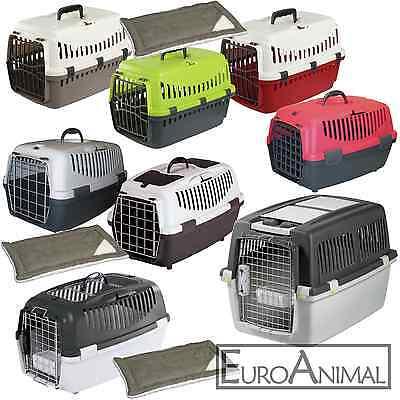 Transportbox Hundetransportbox Katzentransportbox Autotransportbox Kennel 6-18kgverschiedene Ausführungen, mit und ohne Liegekissen