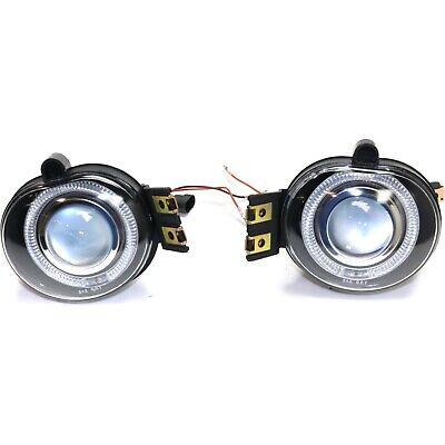 Fog Light Kit Halo Projector Style For 02-08 Dodge Ram 1500 2500 3500