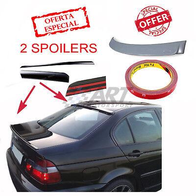 Aleron de techo + spoiler de maletero para Bmw E46 Sedan trasera...