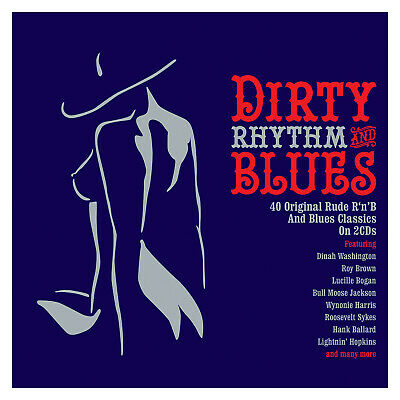 Dirty Rhythm & Blues VARIOUS ARTISTS Best Of 40 Rude Classic Songs NEW 2