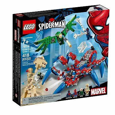 Lego Marvel Super Heroes 76114 SPIDERMANS SPIDER CRAWLER Sandman Vulture 2099
