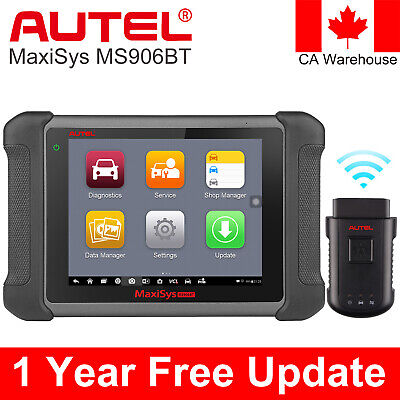 Autel MaxiSys MS906BT OBD2 All System Auto Diagnostic Tool Scanner Better MS906