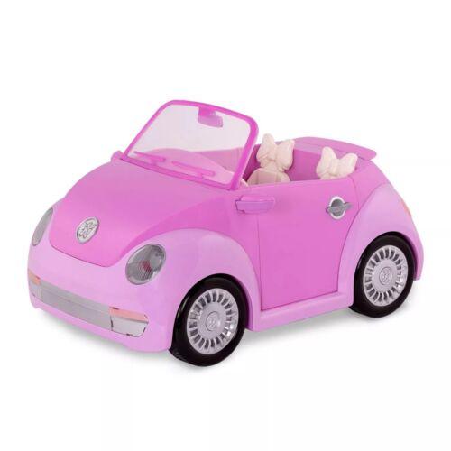 Glitter Girls Convertible Car - Purple - Free Shipping & Free Return !