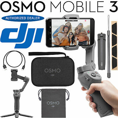 DJI Osmo Mobile 3 Gimbal Stabilizer for Smartphones Combo -