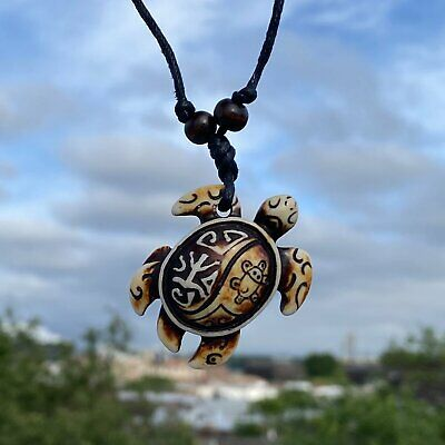 MENDEL Kids Boys Sea Turtle Pendant Necklace Jewelry Rope Men Free Shipping