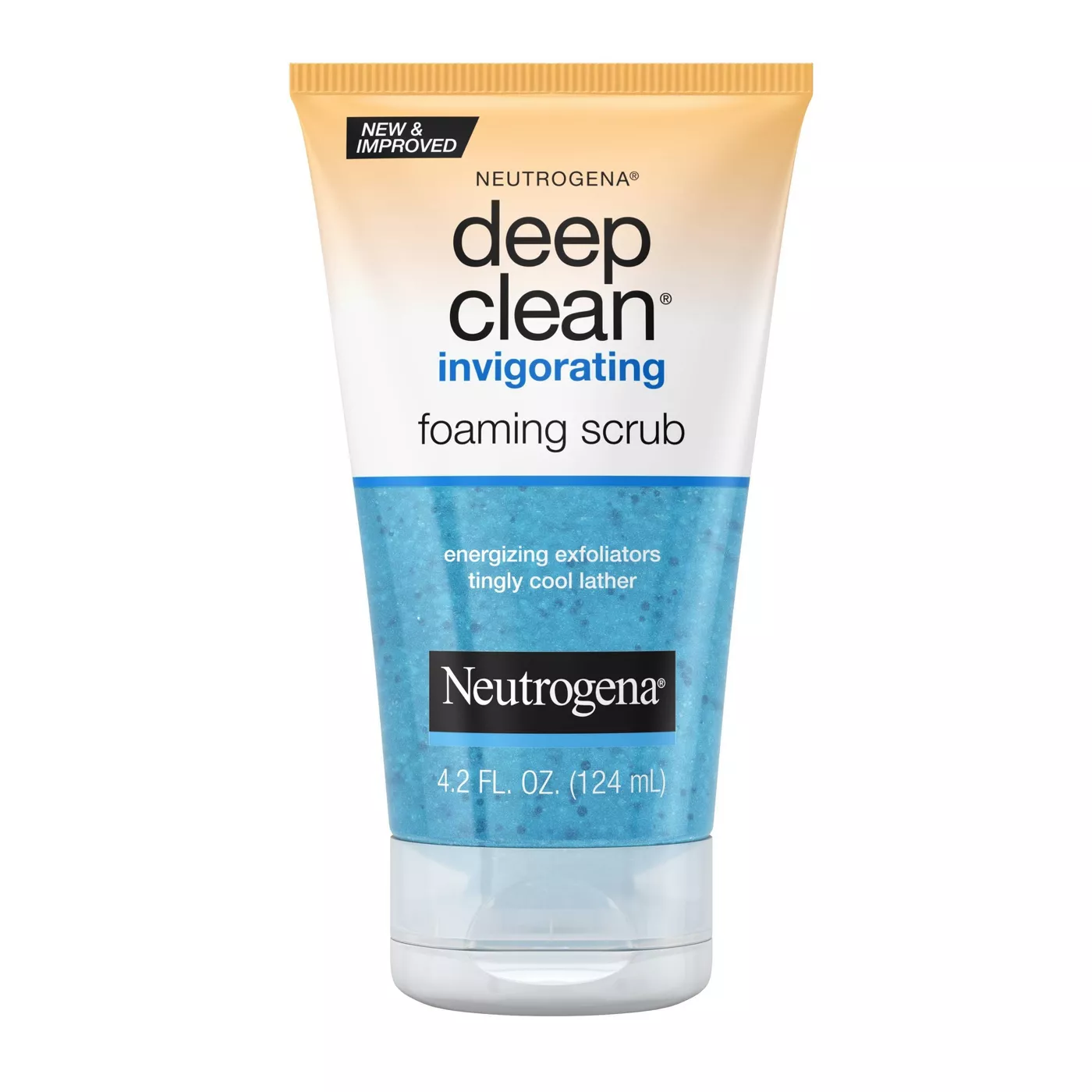 Neutrogena Deep Clean Invigorating Foaming Scrub 4.2 Oz