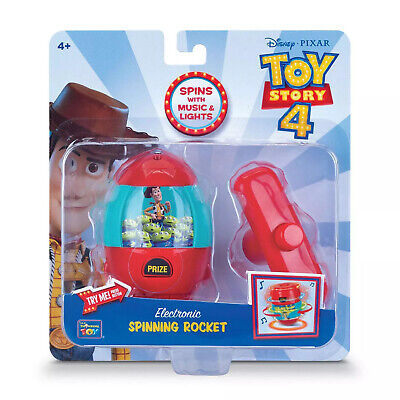 Toy Story 4 Disney Pixar Woody Electronic Spinner with Lights & Music NEW