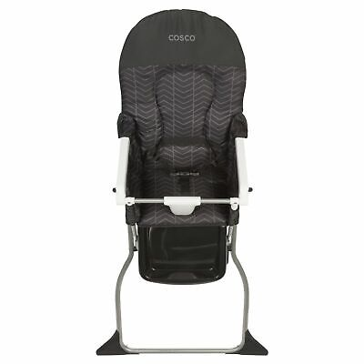 NEW Cosco Simple Fold High Chair Holds Baby or Toddler up to 50 lbs, Black