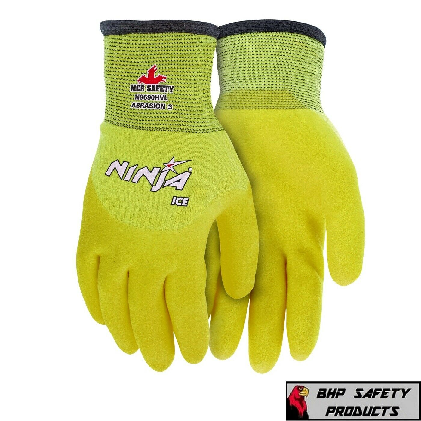 MCR MEMPHIS NINJA ICE *HI-VIS* INSULATED WINTER WEATHER SAFE