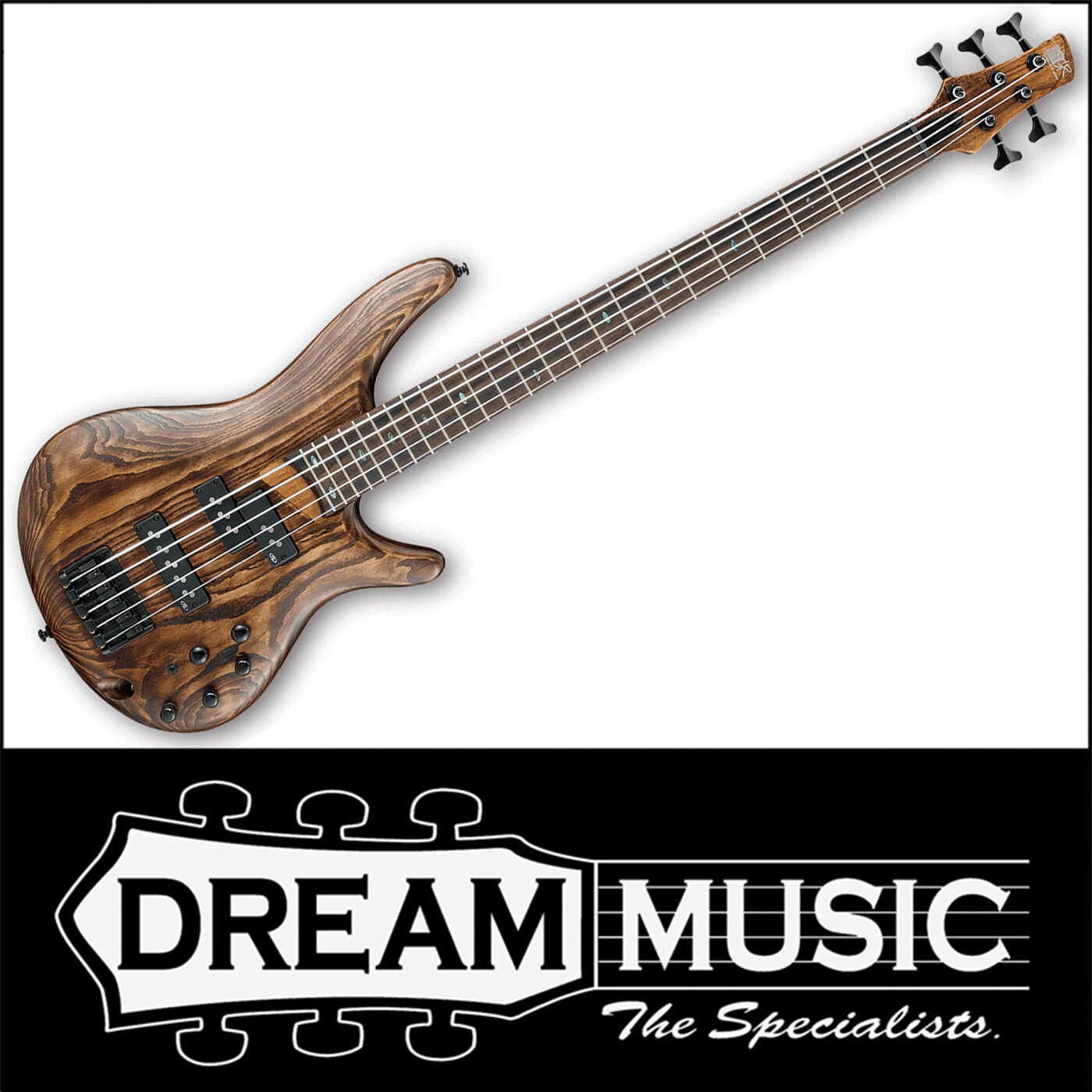 Details about Ibanez SR655 ABS Electric Bass Guitar 5-String Antique Brown  Stained RRP$1799