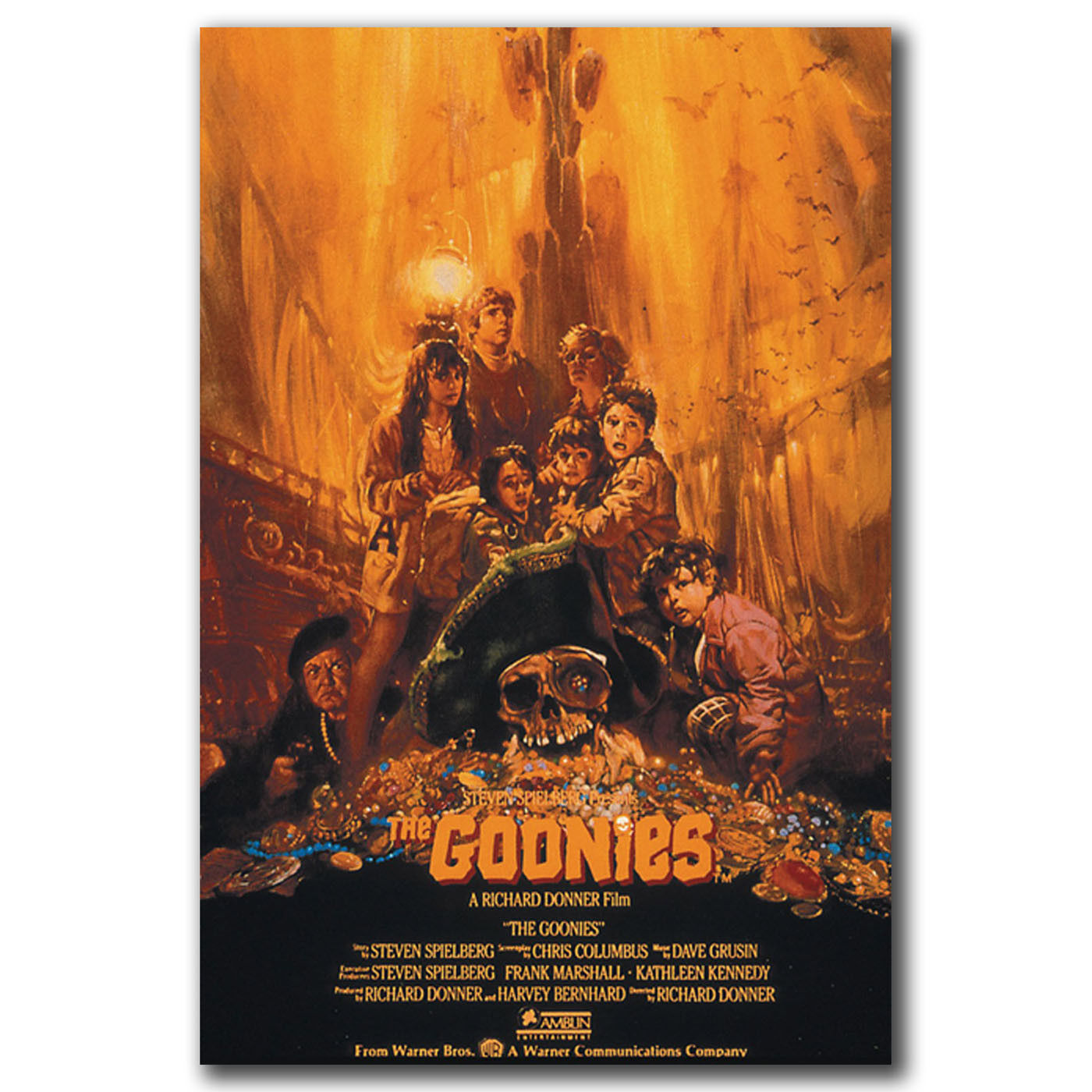 24x36 14x21 40 Poster The Goonies Movie Treasure Art Hot P-1553
