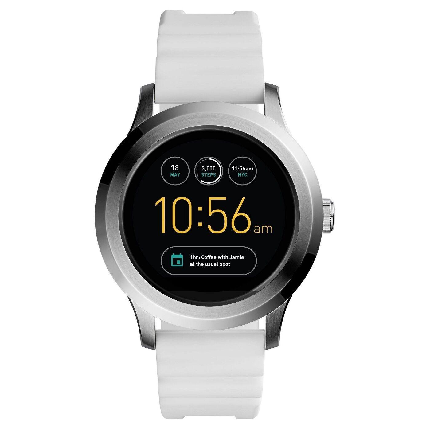 FTW2115 - NEW Fossil Gen 2 Smartwatch - Q Founder White Sili