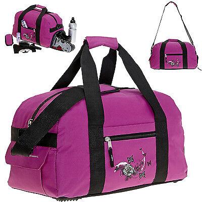 Sporttasche Elephant Butterfly Schulsporttasche + Schuhfach Sport Tasche Magenta