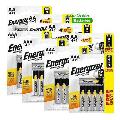 20 AA + 20 AAA Energizer Alkaline Power Plus Batteries LR6 MN1500...
