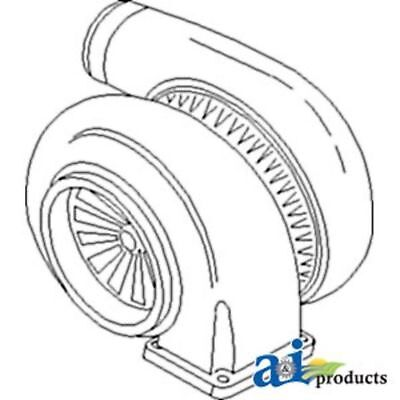 735270c91 Turbocharger Fits Case-ih14801660167016801822358837884366