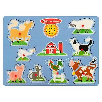 Melissa And Doug Farm Puzzle (Melissa and Doug Sound Puzzle Farm - 9)