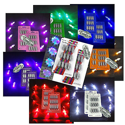 24 SUBMERSIBLE LED Waterproof Balloon Floral Mini Light Wedding Party 8 Colors
