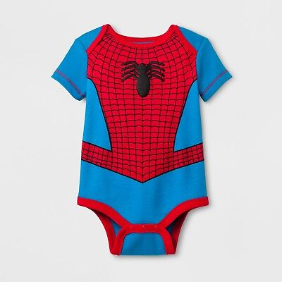 New Halloween Marvel Baby Spider-Man Costume Bodysuit Romper Spider Man - Baby Marvel Halloween Costumes