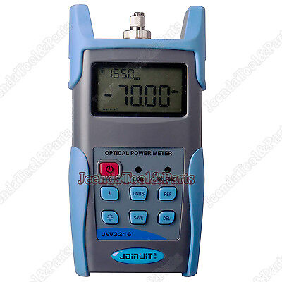 New Fiber Optic Jw3216c Handheld Optical Power Meter Tester -50 26dbm Usb