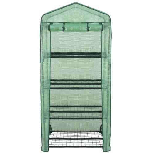 2X 4 Tier Mini Portable Greenhouse Rack Stand Garden Green House Outdoor Indoor Garden Structures & Shade