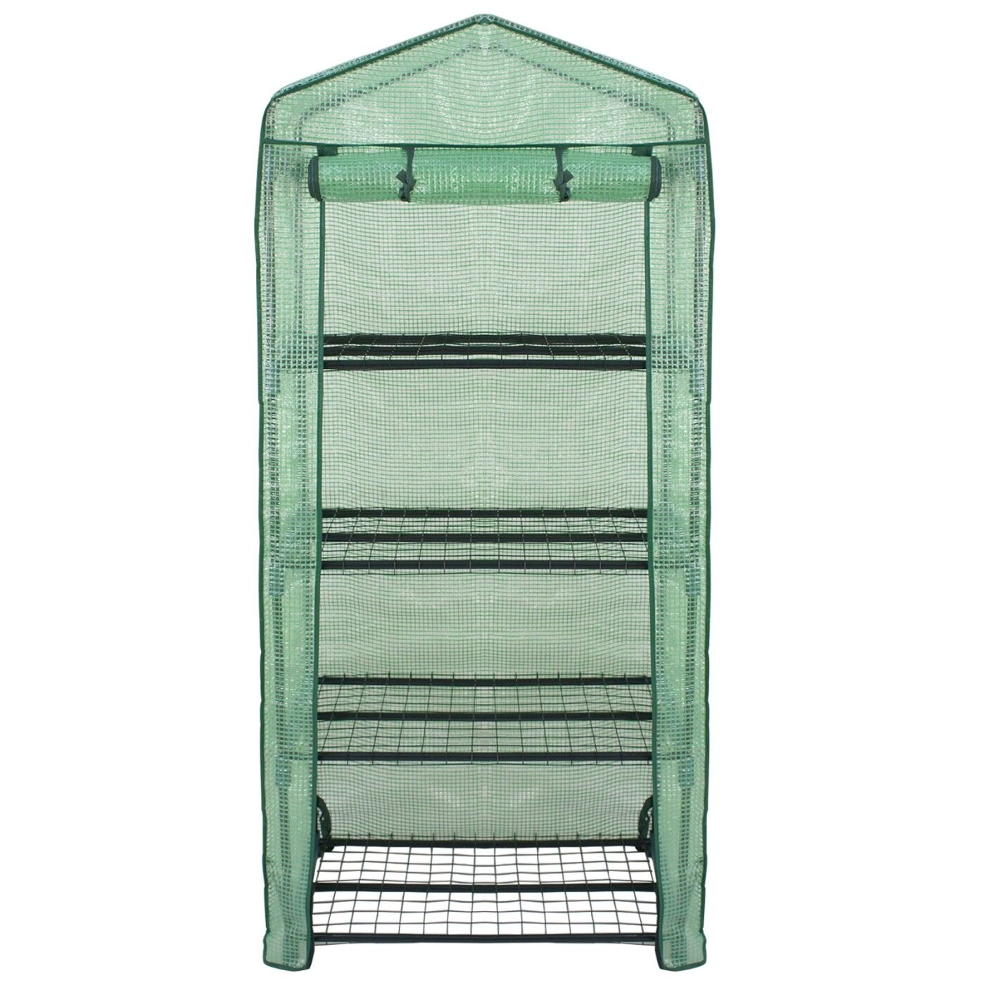 Greenhouse Waterproof Portable 4 Tier Mini PE Cover Green House Portable Garden Structures & Shade
