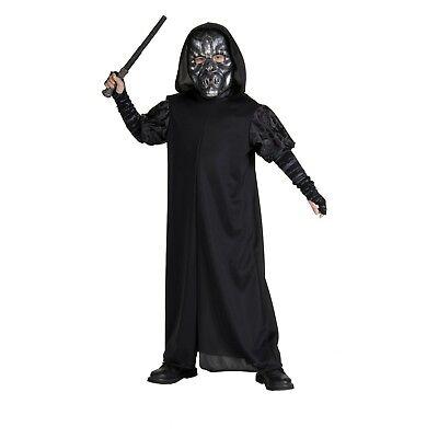 Harry Potter DEATH EATER Costume Child S M Kids Hogwarts