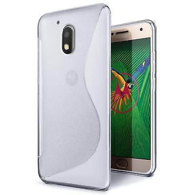 Funda para Móvil Motorola Moto G4 Plus Protección Carcasa de Silicona Protectora
