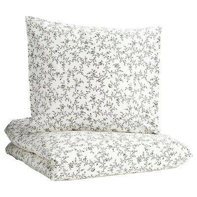 IKEA KOPPARRANKA Bettwäsche Bettbezug 140x200 Bettwäscheset grau Set NEU OVP