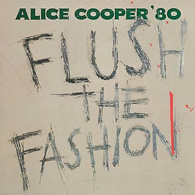 Alice Cooper FLUSH THE FASHION 140g LIMITED Back To The 80s NEW COLORED VINYL LP