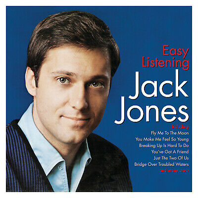 Jack Jones EASY LISTENING Best Of 40 Essential Songs COLLECTION Music NEW 2 (Best Of Jack Jones)