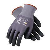 PIP 34-874/L MaxiFlex Ultimate Nitrile Micro-Foam Coated Gloves LARGE 12 pair