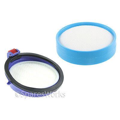 Washable Pre & Post Motor Allergy HEPA Filter Kit for Dyson DC25 Animal Vacuum