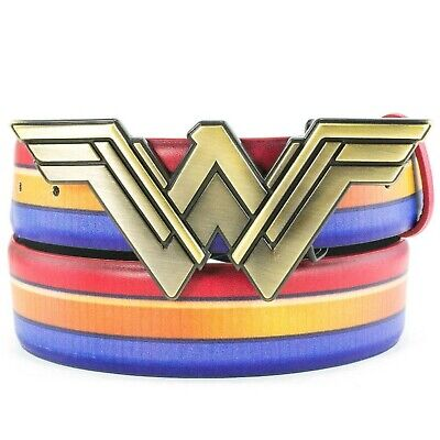 Wonder Woman Gold Belt (Wonder Woman Red Gold and Blue Belt with Gold Symbol Buckle)