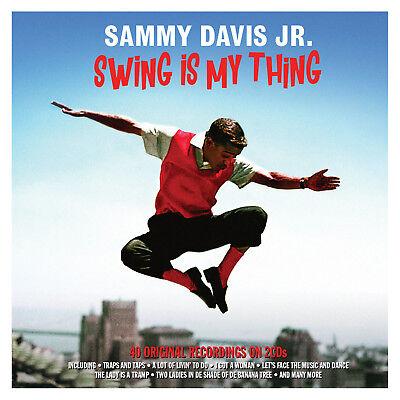Sammy Davis Jr SWING IS MY THING Best Of 40 Original Recordings NEW SEALED 2