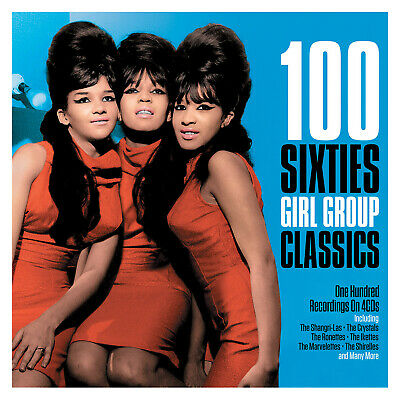 100 Sixties Girl Group Classics VARIOUS ARTISTS Best Of ESSENTIAL New 4