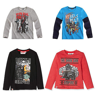 Star Wars Long Sleeve T-Shirt Tops for Boys | Clearance Sale