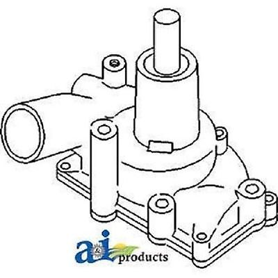 157069as Water Pump Fits White Oliver Mm 1650 1655 1750 1800 1850 1855 1950t