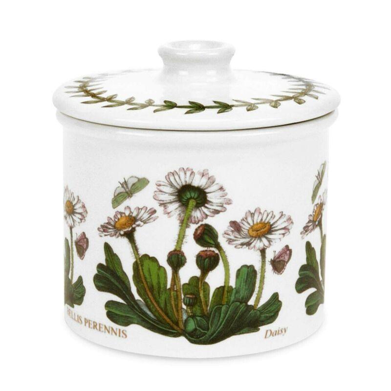 Portmeirion Botanic Garden Covered Sugar Bowl - Daisy