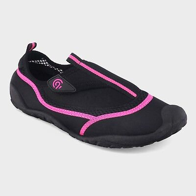 NWT Women's Lucille Water shoes - C9 Champion Black & Pink Lucille Black Adult Shoes