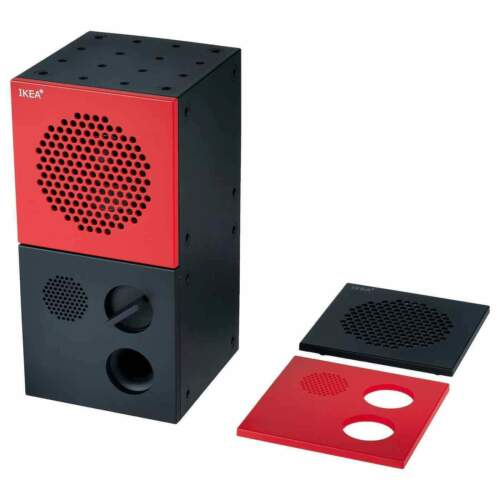 Teenage Engineering X IKEA FREKVENS Bluetooth speaker in RED