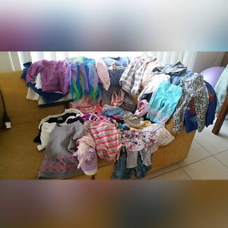 Over 40 ITEMS of GIRLS CLOTHING (sz 18 months)&PILLOW PET